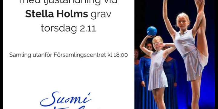 JKG hyllningen av Finland 100 år inleds torsdagen 2.11